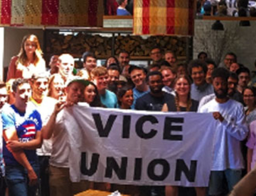 Vice Union is Strong and Growing!